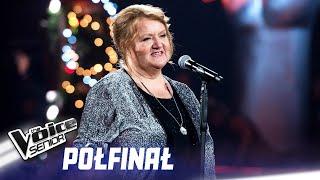 """Bogumiła Kucharczyk-Włodarek - """"Na całej połaci śnieg"""" - Półfinał - The Voice Senior 1"""