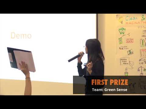 Clean & Green Hackathon 2015  First Prize   Green Sense
