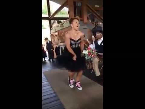 Jacia Wedding - Best Wedding Entrance - Watermelon Crawl Line Dance to Happy