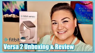 New Fitbit Versa 2 Unboxing, Setup & Review // Selena Marie Tv
