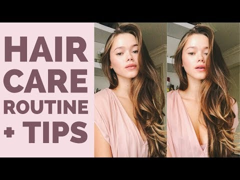 Hair Care Routine + Tips | 2018