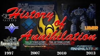 The History of Annihilation - A look into the Total Annihilation Series