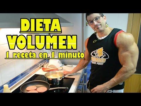 dieta volumen culturismo 3500