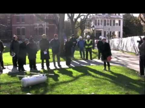 Rhode Island Hall Time Capsule Ceremony: Speeches and Offerings 11/19/08