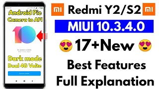 Redmi Y2 MIUI 10.3.4.0 what's new full Review by technical rkp