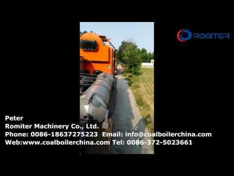 Wood Fired Steam Boiler Delivery to Africa Customer