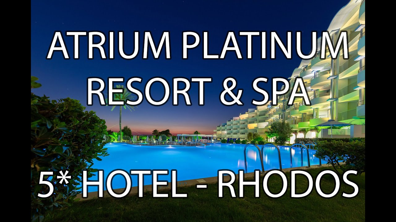 Rhodos Hotel Atrium Platinum Resort Spa 5 Ixia 2016 Deutsch