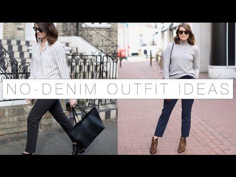 The Denim-Free Haul & Trouser Styling Ideas   The Anna Edit