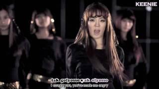 [HD] SNSD - RunDevilRun MV Karaoke + Eng sub