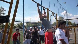 Competencia Barras Cuemanco.- 1er.lugar │Barras México Street Workout│