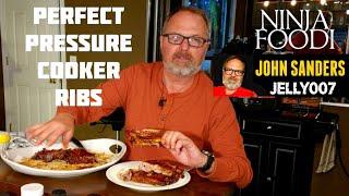 ST LOUIS STYLE RIBS Pressure Cooker PERFECTLY COOKED NINJA FOODI Instant Pot Fall Off Da Bone TENDER