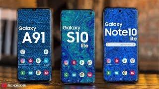 Samsung Galaxy A91 / Galaxy S10 Lite / Galaxy Note 10 Lite - GET READY!!!