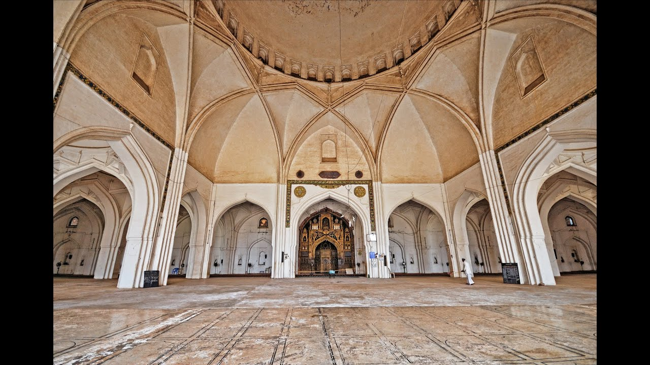 masjid interior design at guntur