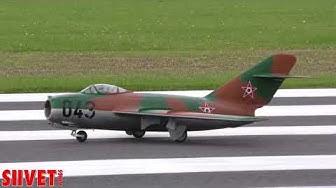 MiG-15 Takeoff Competition Flight -  Anssi Aunola, Jet Team Finland - JMW2017