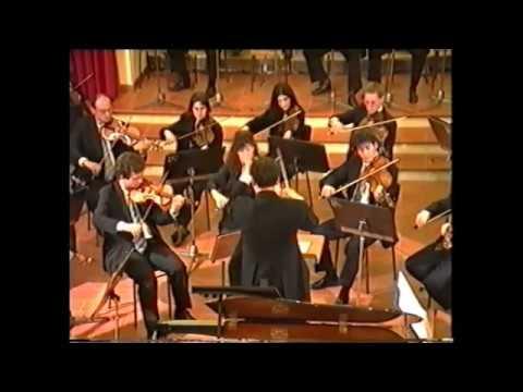 W.A.Mozart: Piano Concerto KV 488  GLORIA D'ATRI (Aged 16)