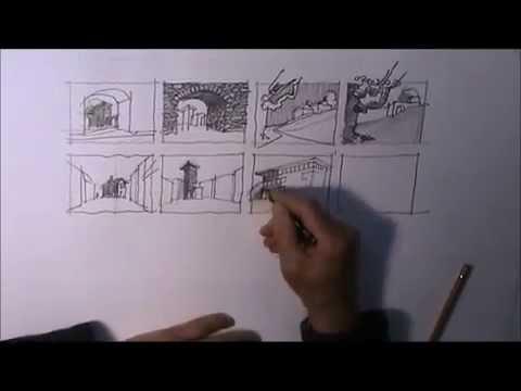 architektur zeichnen lernen 6 youtube. Black Bedroom Furniture Sets. Home Design Ideas