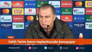 Fatih Terim, 6-0'lık Real Madrid mağlubiyeti sonrası açıklamalarda bulunuyor