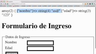 Validacion Formularios con PHP