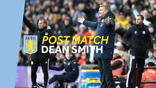 POST MATCH | Dean Smith on Leicester defeat