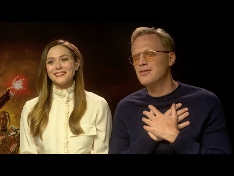 Elizabeth Olsen Singing Spice Girls 'Two Become One' To Paul Bettany  Funny Avengers