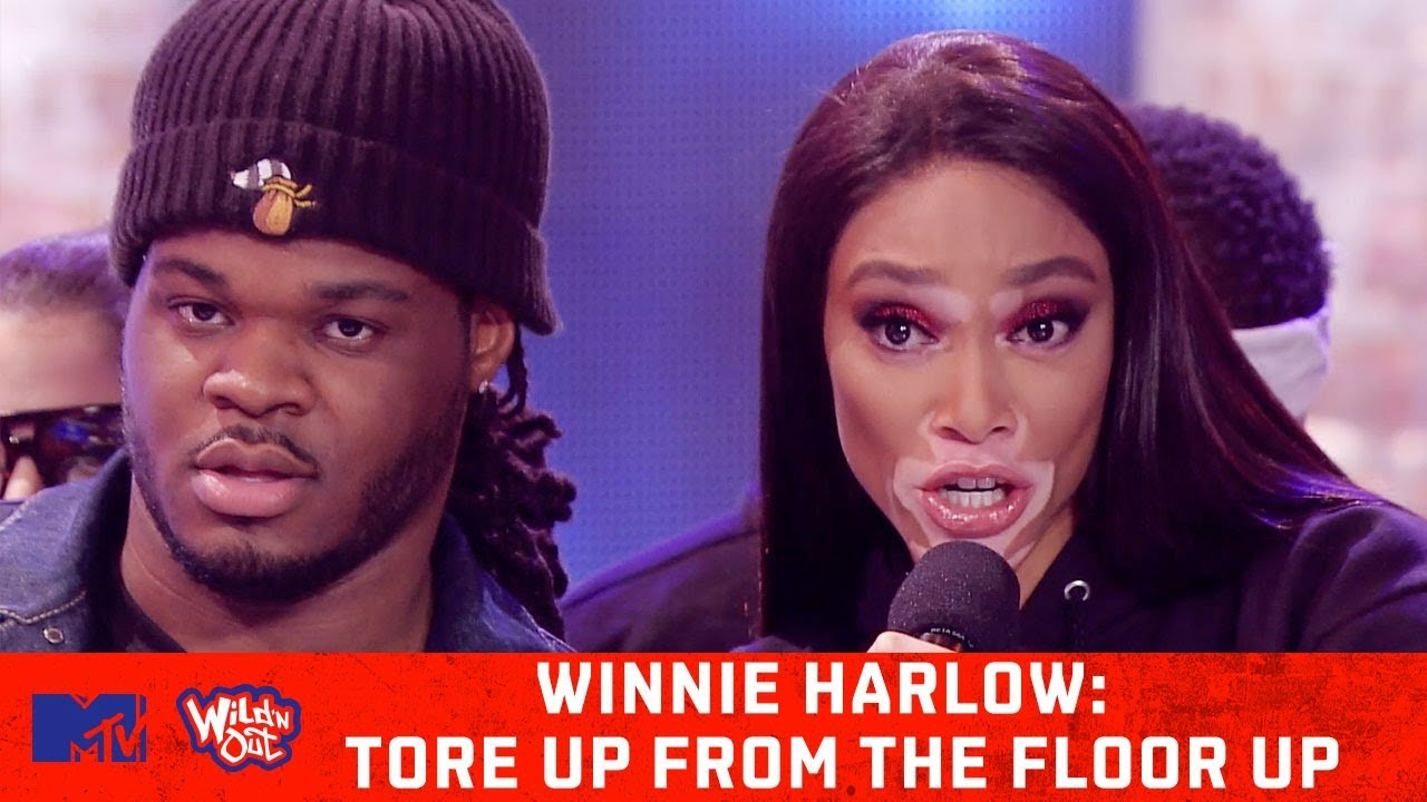 Winnie Harlow Leaves Nick Cannon Shook! 😱 | Wild 'N Out | #ToreUpFromTheFloorUp