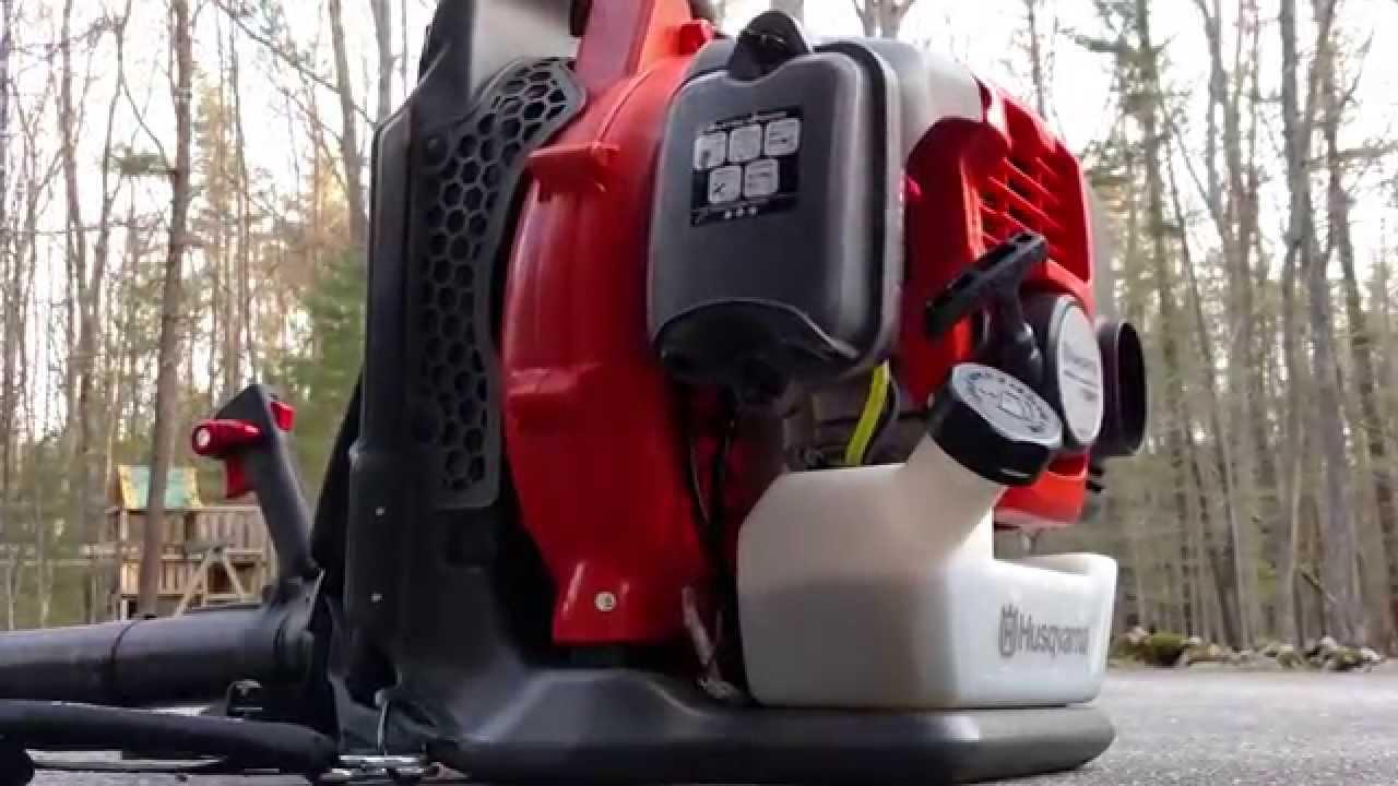Review Husqvarna 150bt Backpack Leaf Blower 4k Youtube