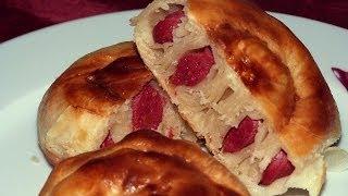 Турецкий бёрек | Турецкий пирог с сосисками