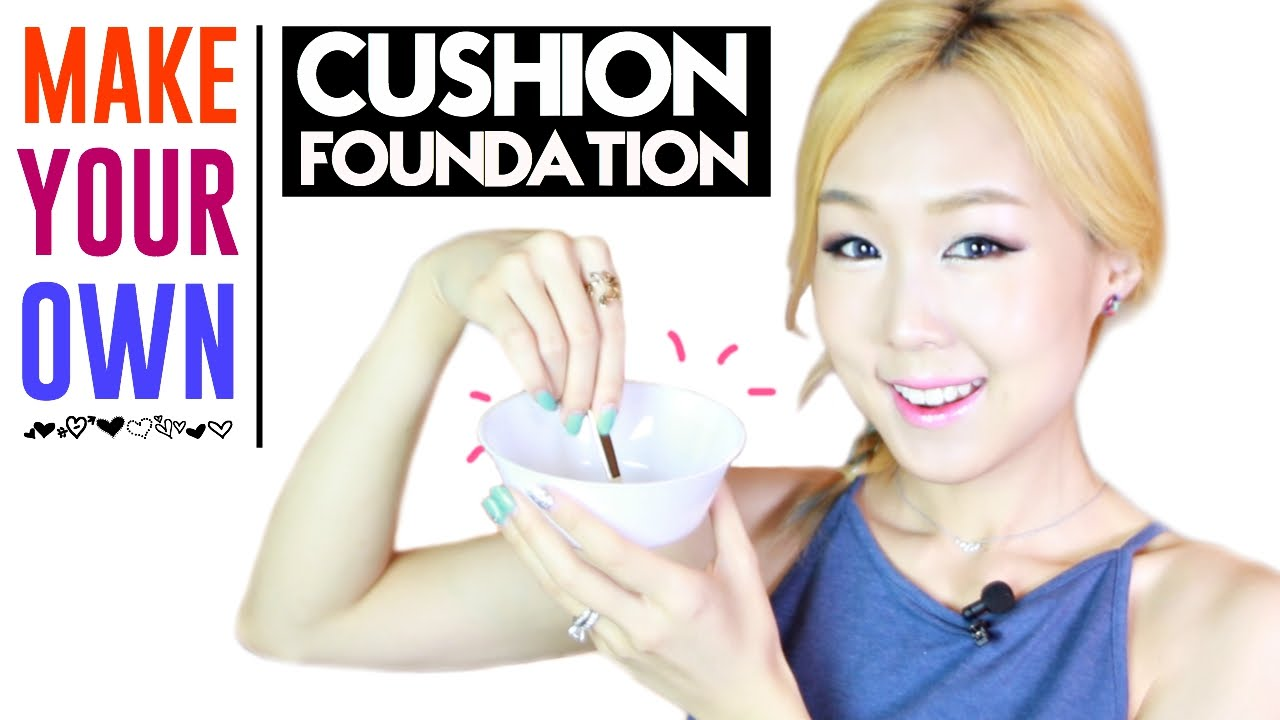Diy make your own cushion foundation youtube solutioingenieria Images