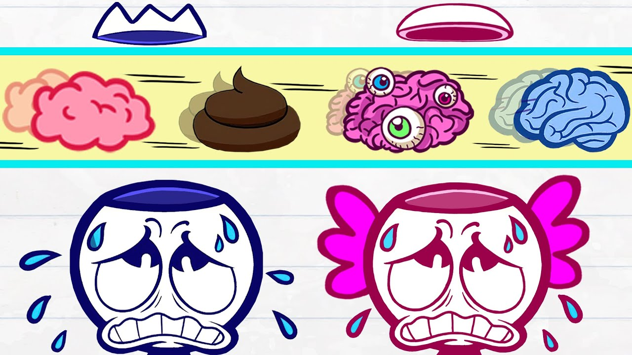 Max の脳は正しく機能できません | Funny Moment | Animated Short Films