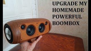 DIY Upgrade My Homemade Powerful Bluetooth Speaker