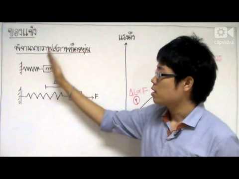 [clipvidva] ฟิสิกส์ ม.ปลาย สมบัติเชิงกลของสาร Part1