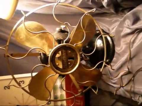 Haul Video! Antique Hawthorne Brass Fan, Porcelain Sign, Coca cola clock!