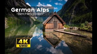 German Alps From Above MUST SEE Views: Berechtesgadener Land 4k | Königsee