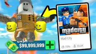 PLAYING VERY MAD CITY IN ROBLOX