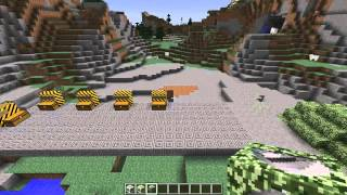 Minecraft : Война (Взрывчатки, Бункеры, Камуфляж, Пилюли) - Обзор Мода (WarStuff Mod)