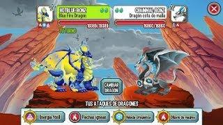Batallas contra tus amigos - Dragon City