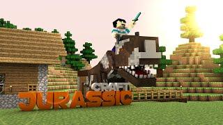 Minecraft : Jurassic Craft - Bölüm 33 - EVCİL T-REX !