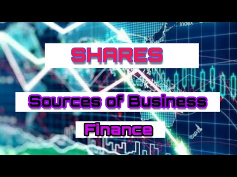 (hindi) Shares | Sources of business finance | Class  11th | Business Studies