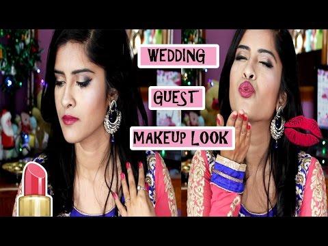 WEDDING GUEST MAKEUP LOOK !!!!! - YouTube
