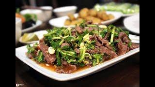 Bí Quyết Làm Món Trâu Xào Cần Tỏi Ngon Có 1 Không 2 Cho Mâm Cỗ Việt Nam (How To Make VietNam Food)