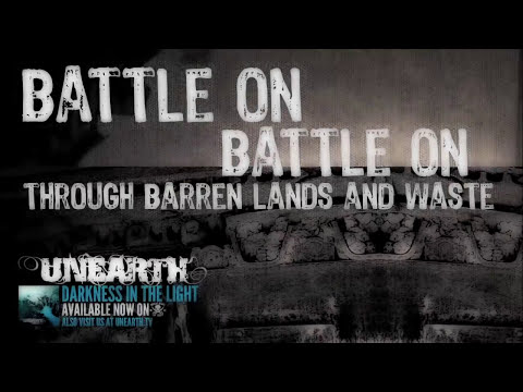 UNEARTH - ARISE THE WAR CRY Lyric Video