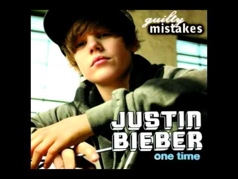 Justin Bieber - One Time *Pitch Shift: Sounds Older* *Download Availiable*