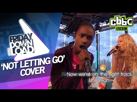Tinie Tempah ft Jess Glynne - Not Letting Go cover by Akai and Molly - CBBC Friday Download