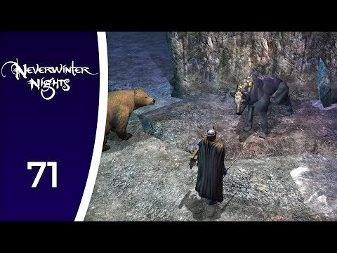 Of talking she-wolves and non-cleavages - Let's Play Neverwinter Nights #71