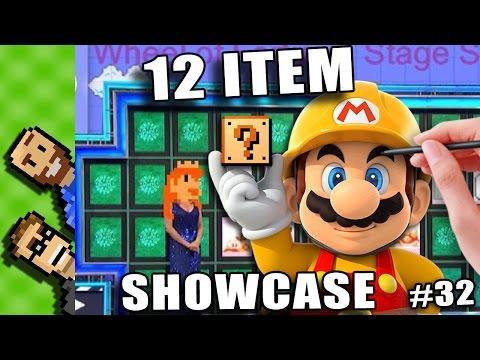 MARIO - WHEEL of FORTUNE? | Mario Maker Creator Challenge | Round 32 | Creative Mario Maker Courses