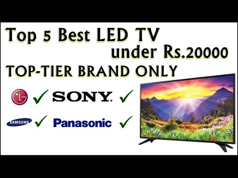 Top 5 Best Led TV under 20000 in india TopTier Brand Only