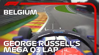 George Russell's Mega Q3 Lap | 2021 Belgian Grand Prix