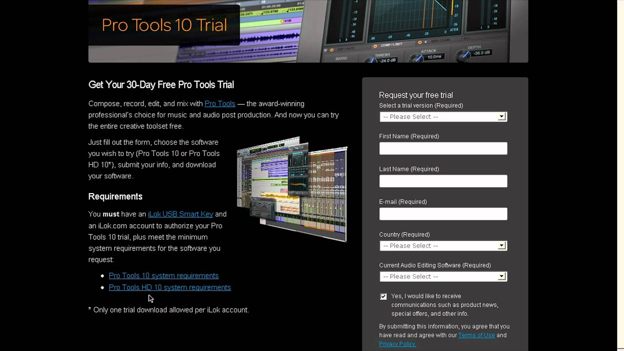 free pro tools 10 trial youtube