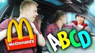 McDonalds PRANK | BESTELLUNG NUR BUCHSTABIEREN