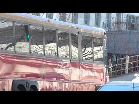 Gwinnett county transit mci d4500 bus 9006 in downtown atlanta